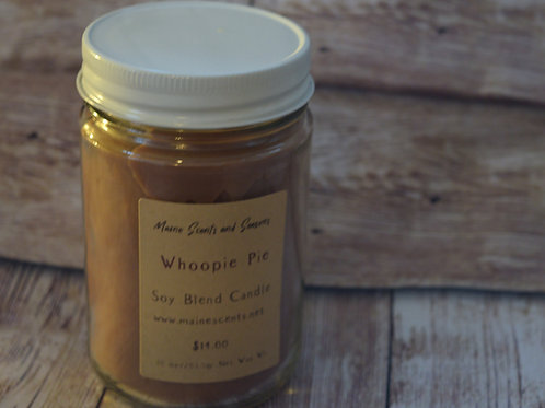Whoopie Pie Soy Blend Candle 10 0z