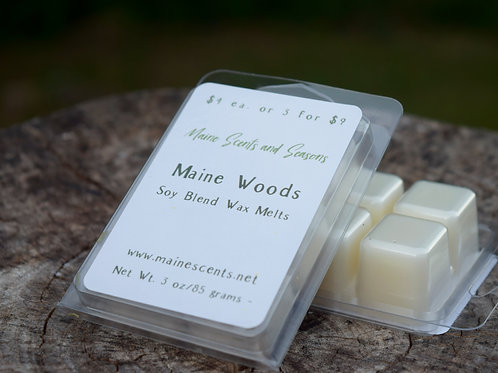 Maine Woods Wax Melts