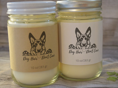 German Shephard Soy Blend Candle   Personalized   Gift For Dog Lovers