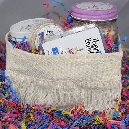 Birthday Gift Basket ~White Birthday Cake Scent