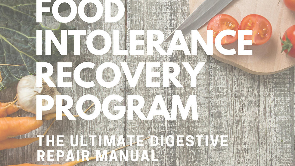 Food Intolerance Recovery Program
