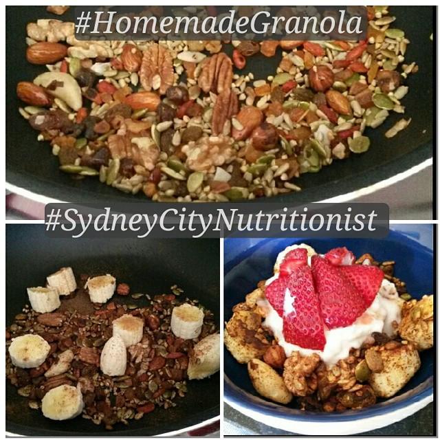 Home Made Granola Recipe