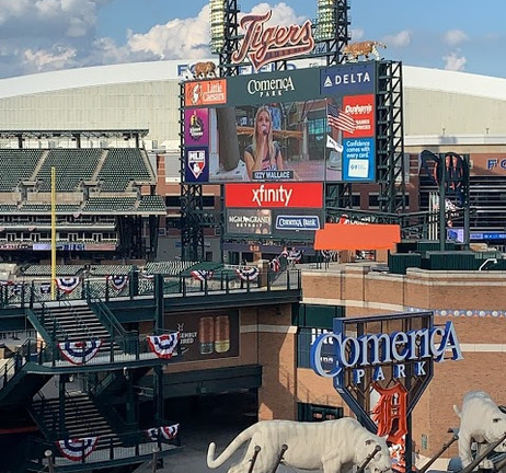 Detroit Tigers Anthem
