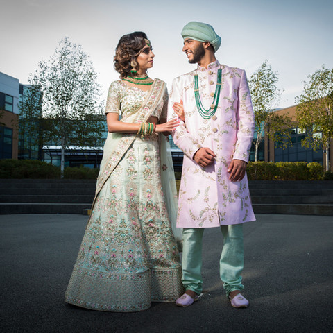 """Mr Vaghela. The photo album that you have just dropped off has left us speechless. We knew that the album was going to be epic, but this really has surpassed all our expectations. We could not have asked for anything more. From our initial e mail to you until this day, you have been noting but professional and understanding.   Investing the time in doing all the shoots and planning was definitely worth it and I would not change a thing. You involved us in the photo selection and editing process, and we were blown away at how you took your already amazing photos to another level.   I am so glad we booked you and your team and we would highly recommend you to everyone.   Thank you so much Kam. Simran & Shyam"""