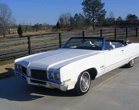 1970 Oldsmobile Ninety-Eight Convertible