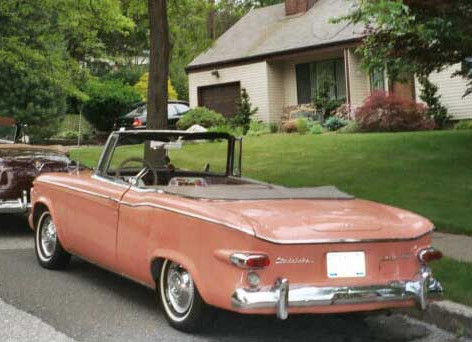 1961 Studebaker Lark VIII Regal Convertible Coupe