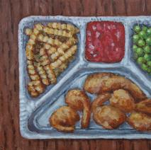 Fried Shrimp TV Dinner