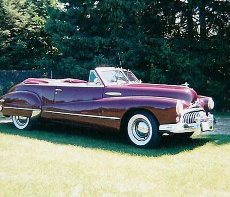 1947 Buick Series 70 Roadmaster Convertible Coupe