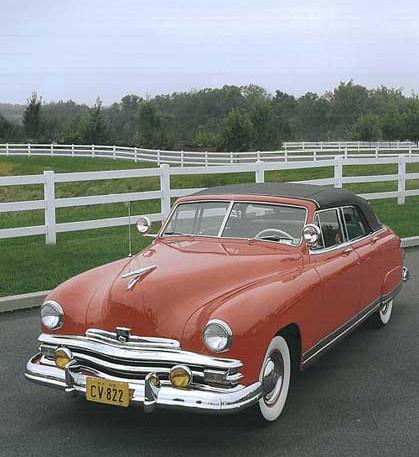 1949 Kaiser Deluxe Convertible Sedan