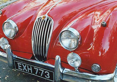 1957 Jaguar XK-140 Drop-Head Coupe