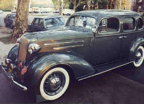 1936 Chevrolet Master Deluxe Sport Sedan