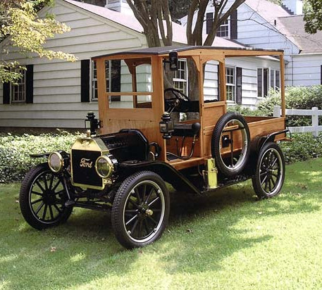 1910 Ford Model T Delivery Wagon