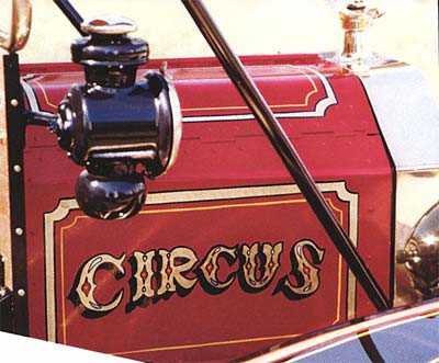 1915 Ford Model T Circus Truck