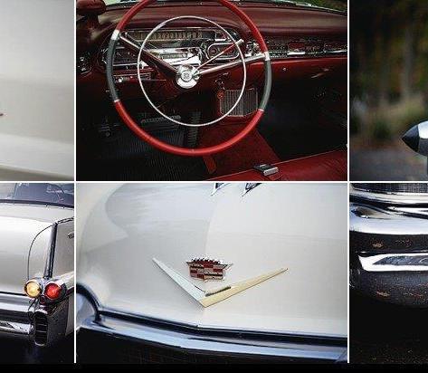 1957 Cadillac Series 62 Convertible Coupe