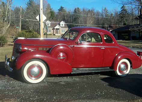 1937 Buick Series 40 Opera Coupe