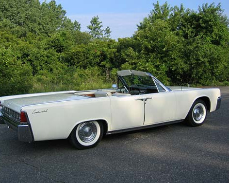 1963 Lincoln Continental Convertible Sedan