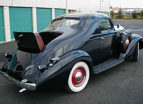 1937 Studebaker Dictator Six Custom Rumble Seat Coupe