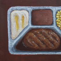 Salisbury Steak TV Dinner