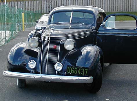 1937 Studebaker Dictator Six Custom Rumble Seat Coupe