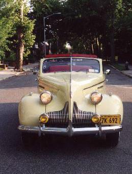 1939 Buick Model 41C Sport Phaeton