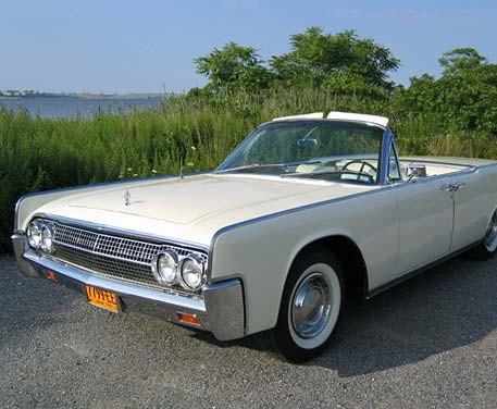 1963 Lincoln Continental Convertible Sedan