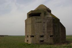 World War II minefield control tower