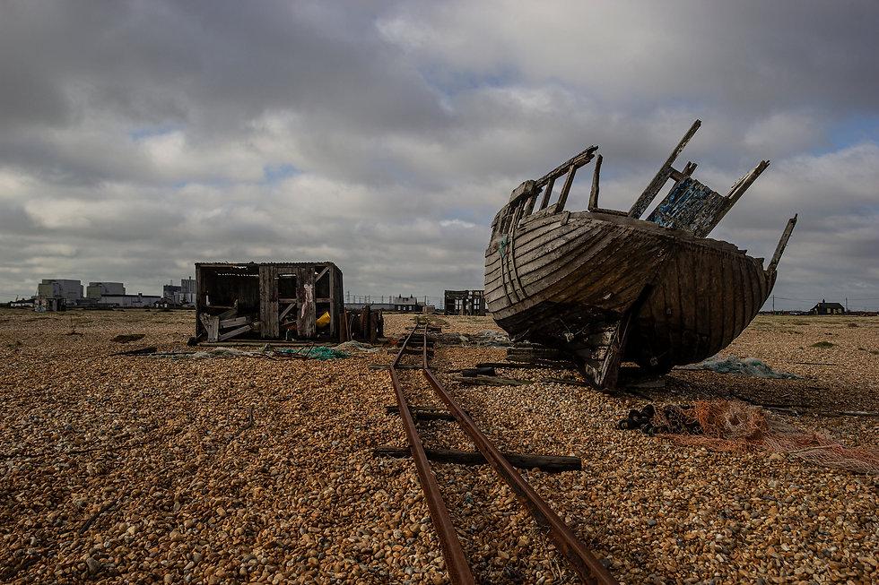Dungerness - wrecks - Simon Fowler