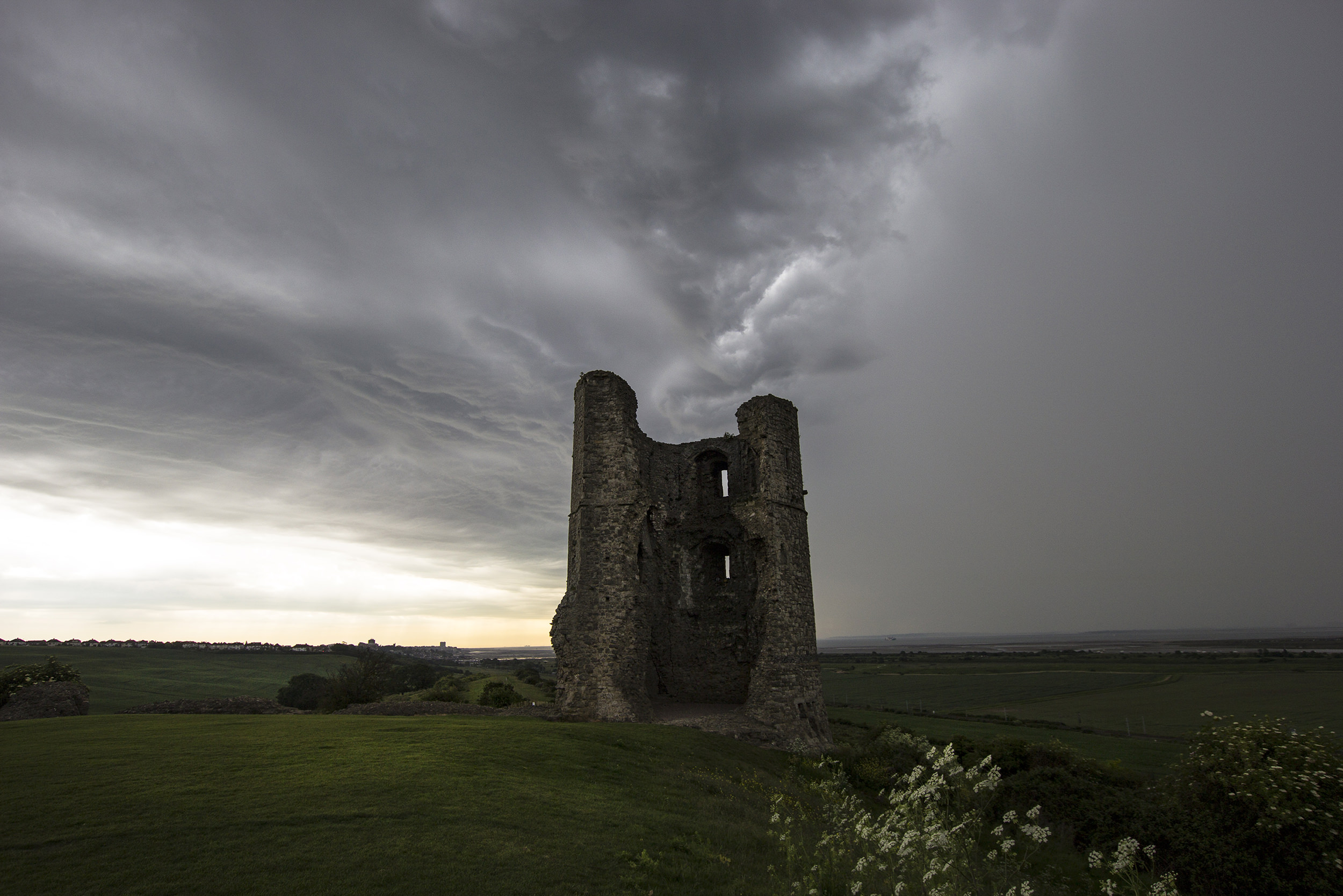 Hadleigh Castle - tower no.3