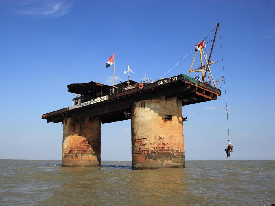SEALAND - Sea forts