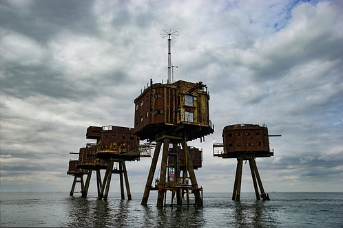 Maunsell Forts in the Estuary