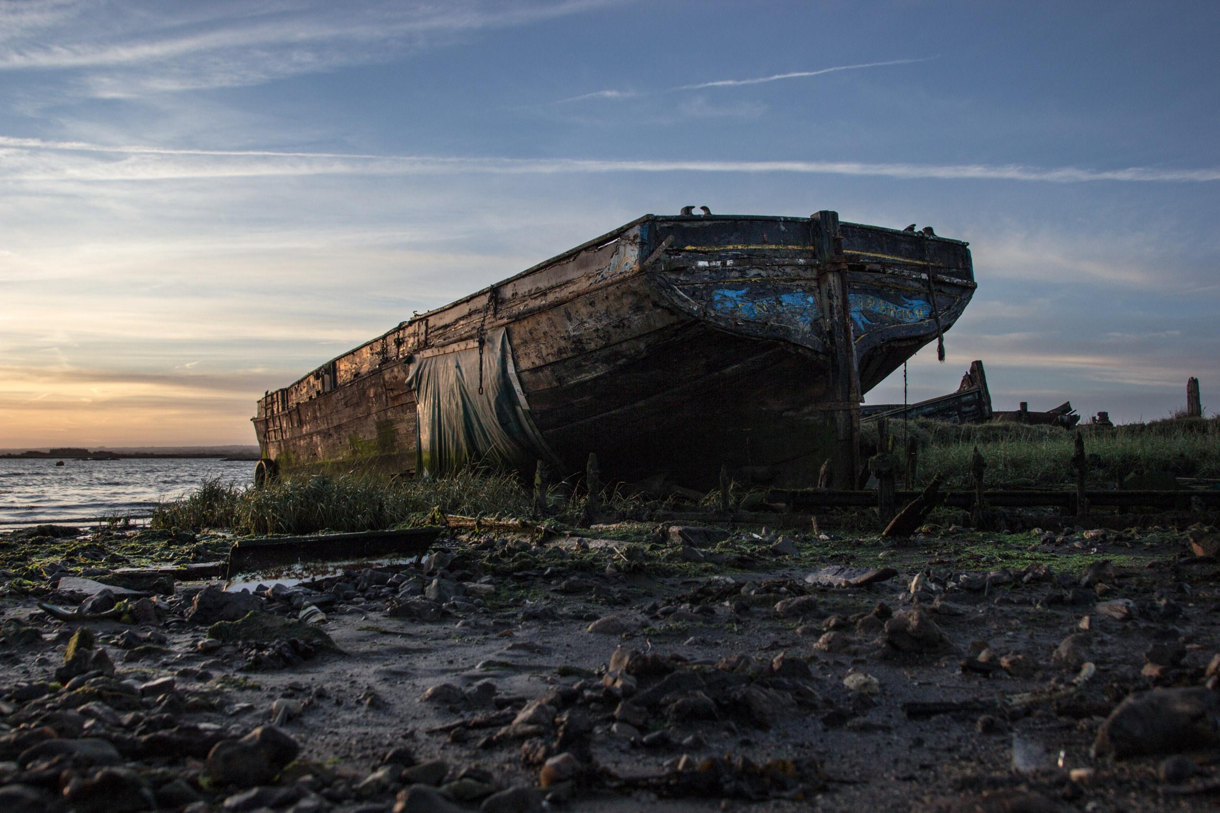 HOO peninsula - Sailing Barge Ena