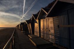 Cromer beach Huts Norfolk Coast