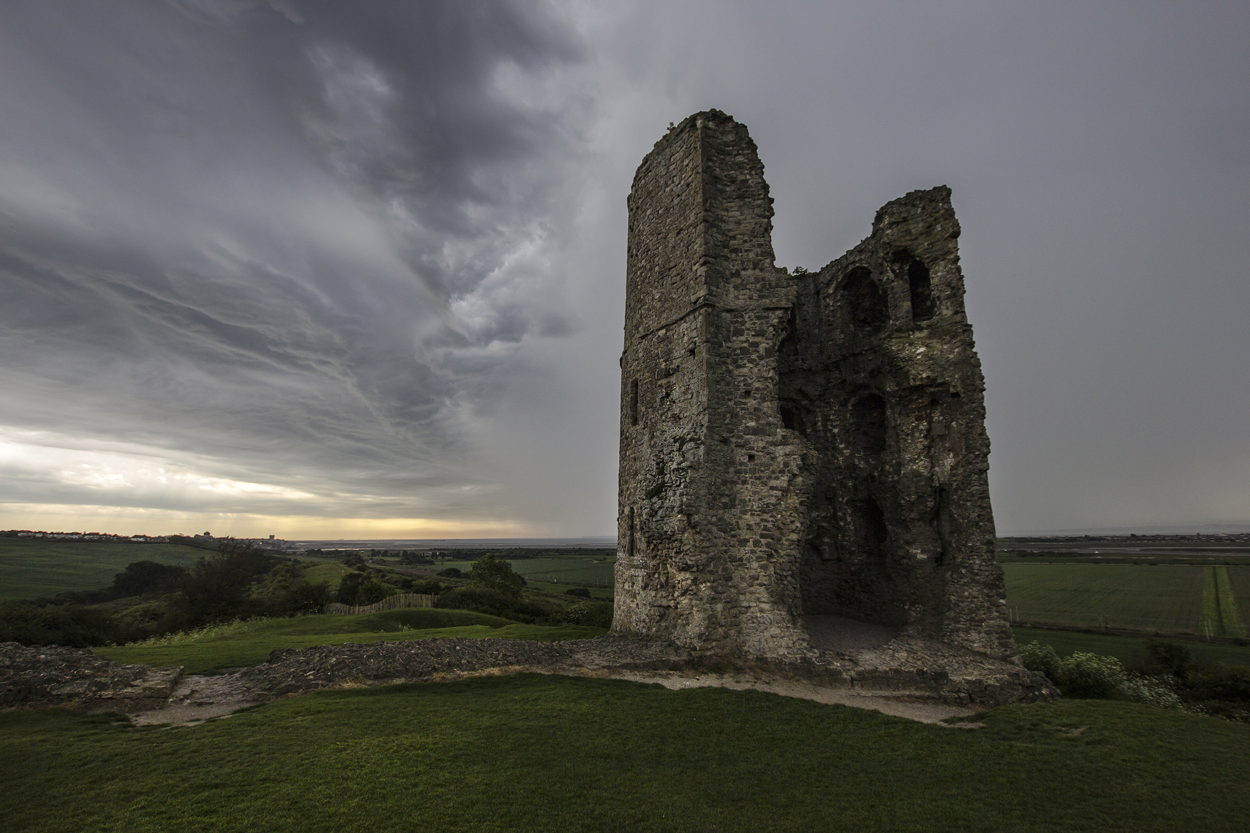 Hadleigh Castle - tower no.2