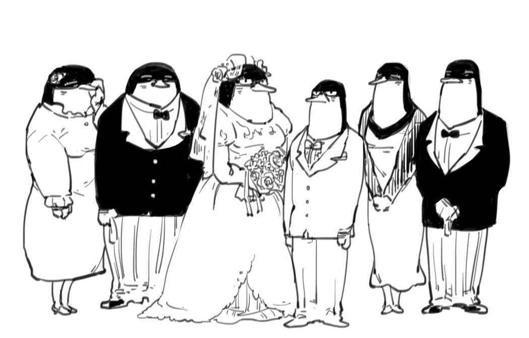 ブライダルペンギン
