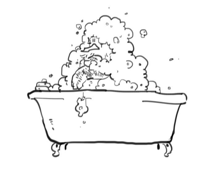 あわあわ風呂