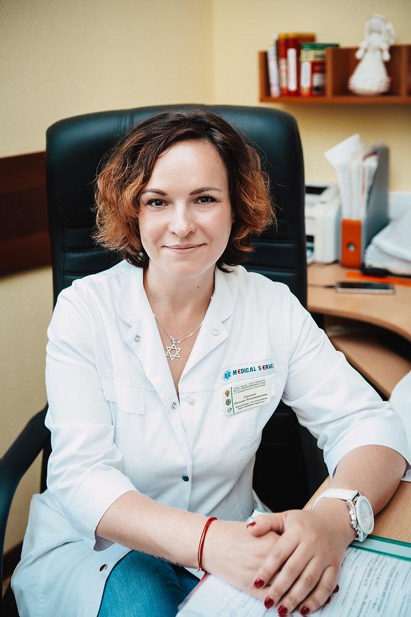Пинская Наталия Владимировна, врач психи