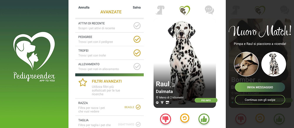 Arriva Pedigreender: la nuova app di dating dedicata agli amici a quattro zampe | BySaraMorandi