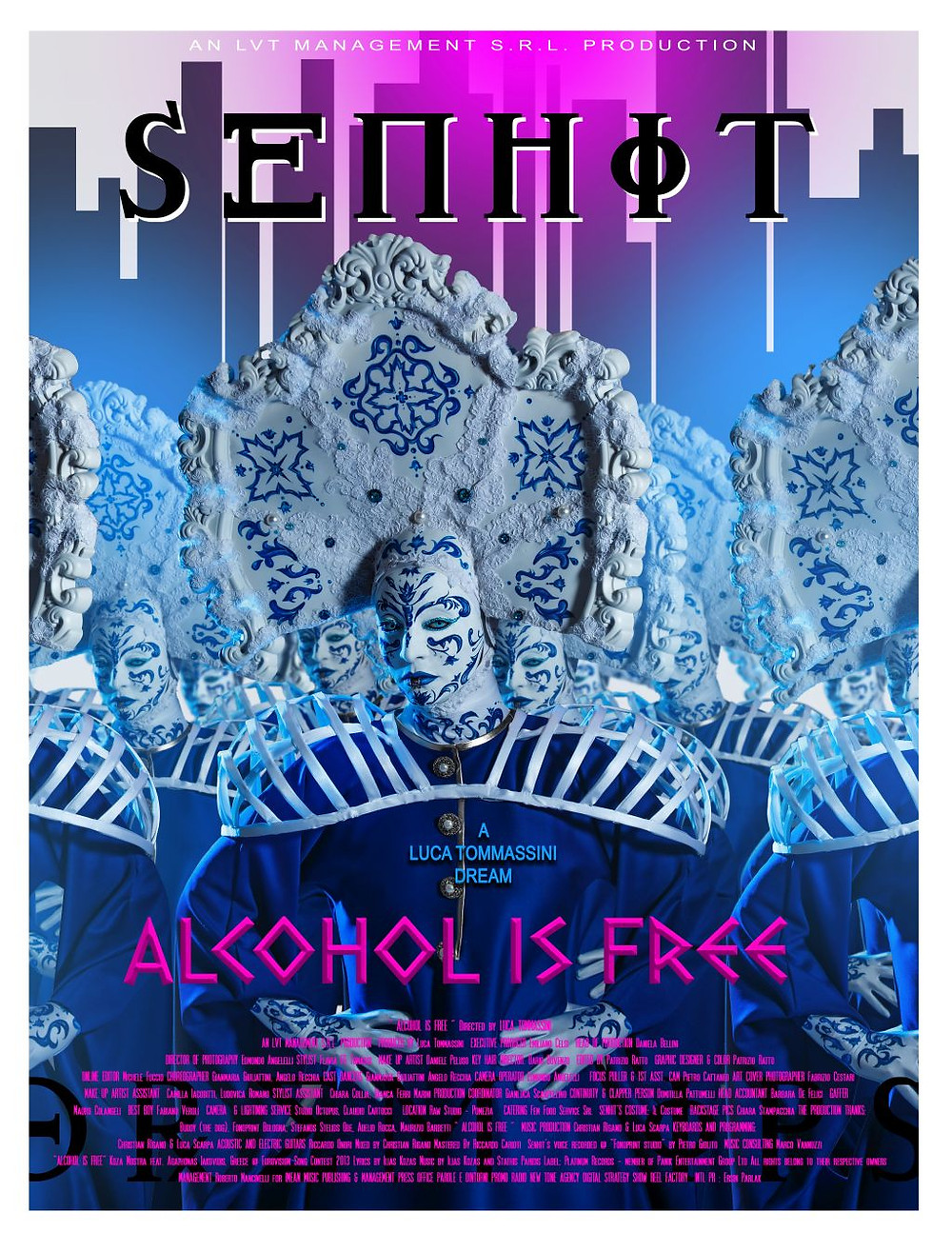 """SENHIT e LUCA TOMMASSINI reinterpretano il brano """"Alcohol is Free"""", il video è online da oggi!   BySaraMorandi"""