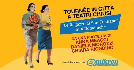 Anna Meacci, Daniela Morozzi e Chiara Riondino in tournée per protesta a teatri chiusi | BySaraMorandi