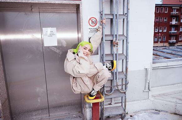 """CLAUDYM - la poliedrica artista pubblica giovedì 04 febbraio """"NIGHTMARE"""", il nuovo singolo"""