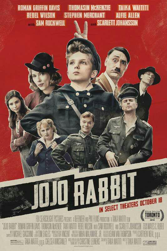 "Weekend al cinema con ""Jojo Rabbit"" 