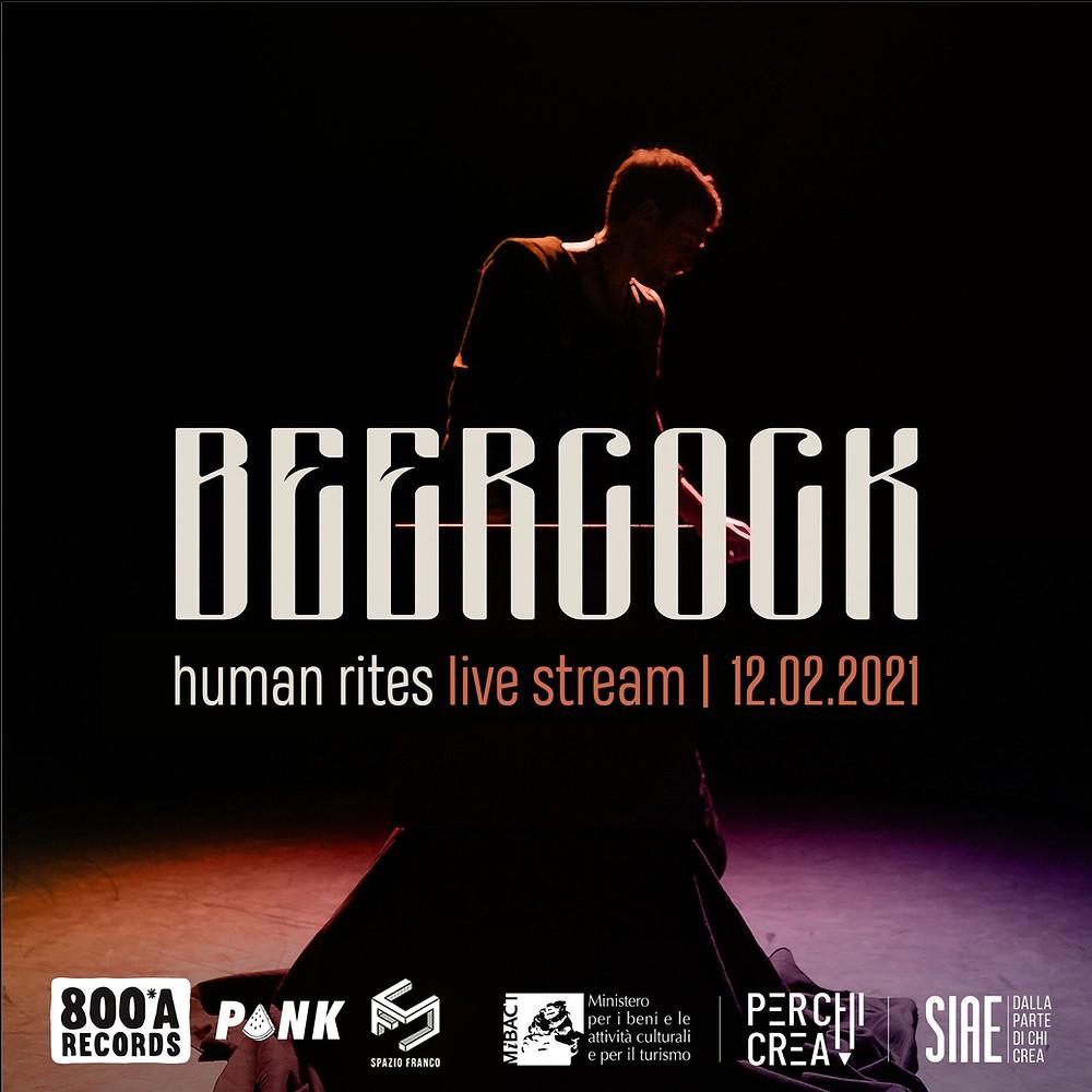 L'artista anglo-italiano BEERCOCK si esibirà per la prima volta in una performance multimediale | Blog BySaraMorandi