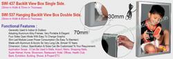 18 SWI 437 Backlit View Box Single Side.