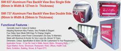 11 SWI 637 Aluminium Flex Backlit View B