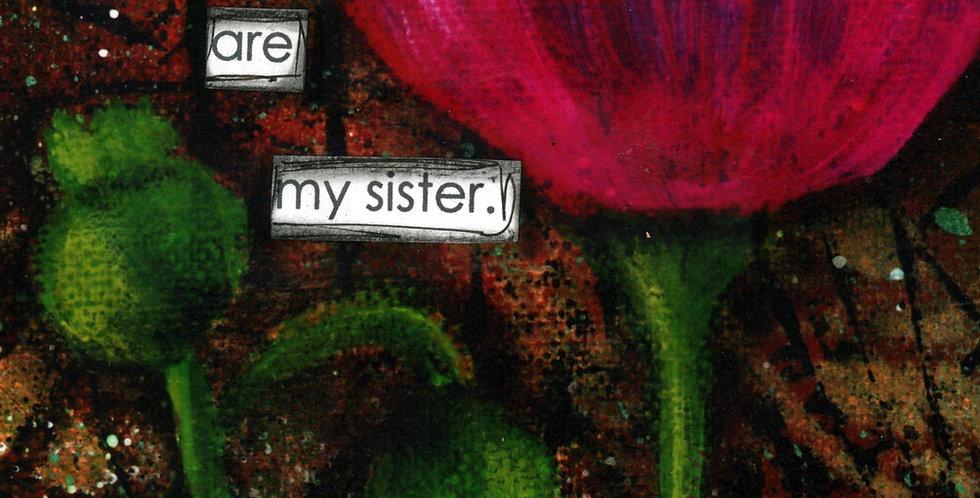 111 Sister Greeting Card
