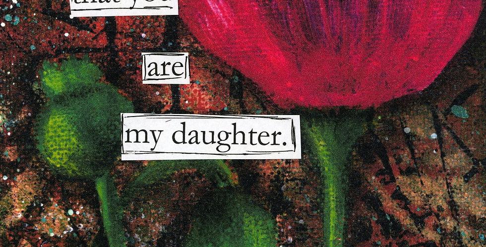 111 Daughter-Print on Wood Panel