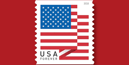 Stamped envelope-Forever Stamp