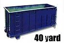 40 yard roll off dumpster rental los angeles, CA