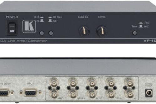 Kramer VP-103 VGA-RGBHV Converter
