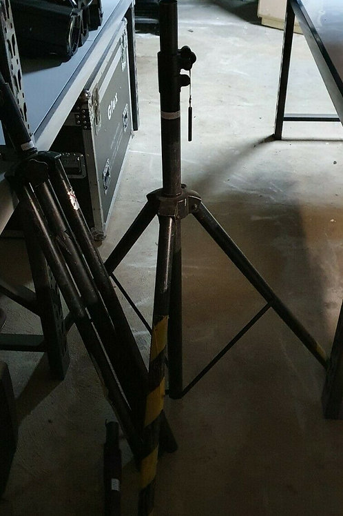 2 x Heavy Duty Metal Speaker Stands